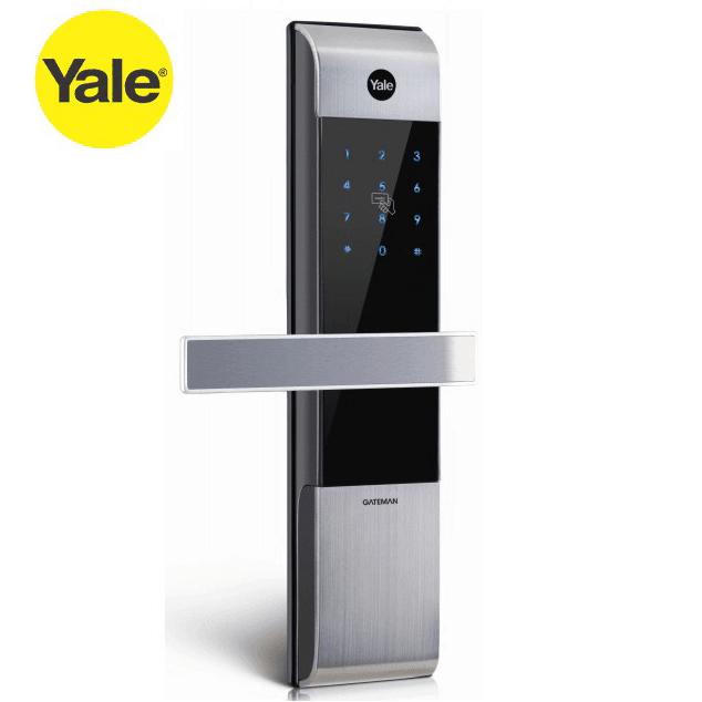 Khóa điện tử Yale YDM-3109, khóa cửa thẻ từ, mật mã