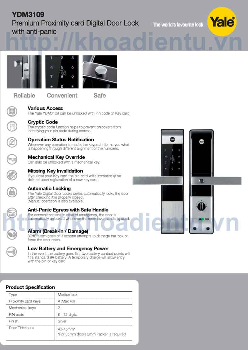 YDM3109-Digital-Lock-Card-L