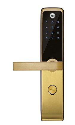 KHÓA ĐIỆN TỬ YALE YDM-3115 gold