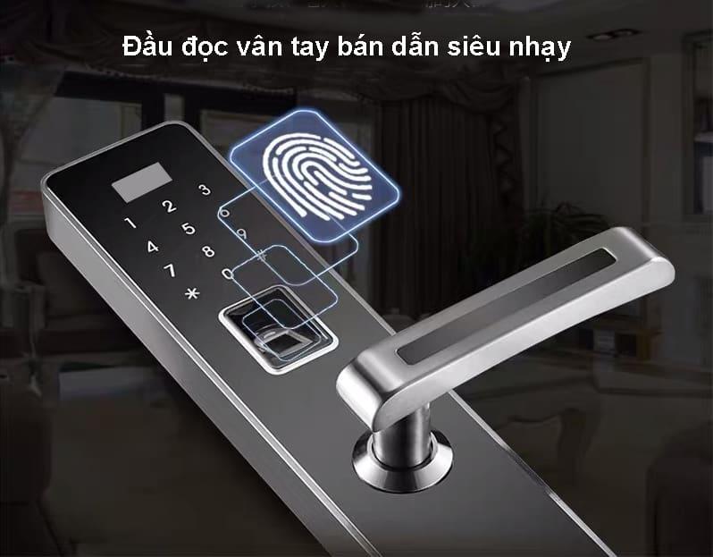 Công nghệ nhận dạng vân tay bán dẫn