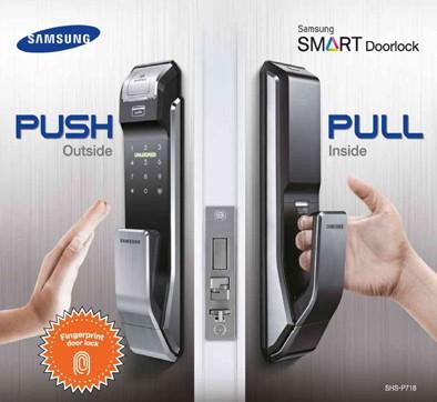 Samsung SHS-P718 với kiểu dáng Push - Pull