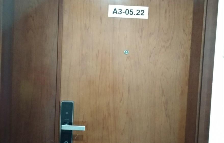 Khóa cửa vân tay O'LOK H3900 bạc