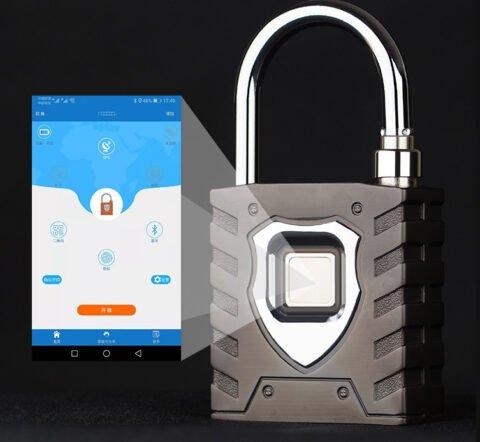 Khóa bấm vân tay PL08 Bluetooth